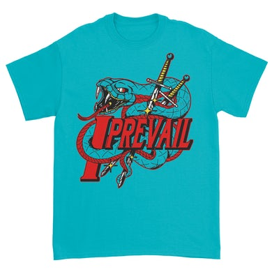 I Prevail Viper Tee (Teal)