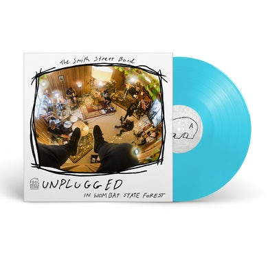 The Smith Street Band Unplugged In Wombat State Forest LP (Blue) (Vinyl)