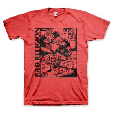 Bad Religion Television Tee (Red)