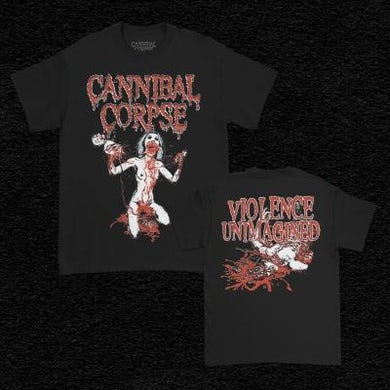 Cannibal Corpse Violence Unimagined Sketch T-Shirt (Black)