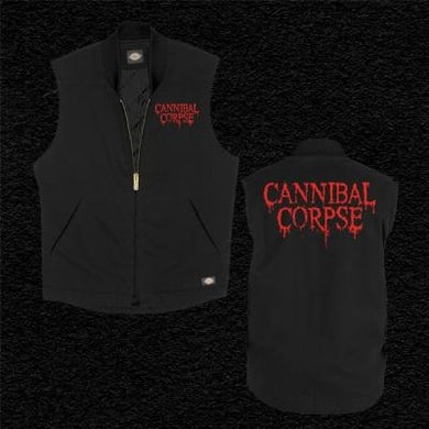 Cannibal Corpse Logo Dickies Vest (Black)
