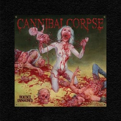 Cannibal Corpse Violence Unimagined Raw Flag