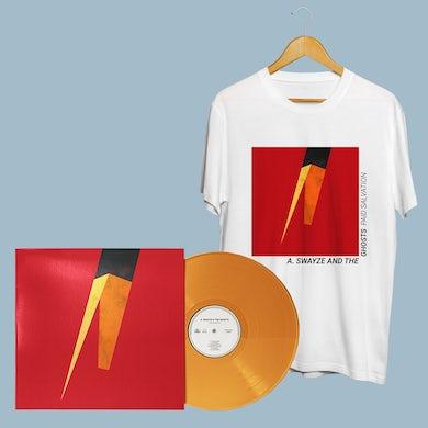 Paid Salvation LP (Orange Vinyl) + Cover Tee (White)