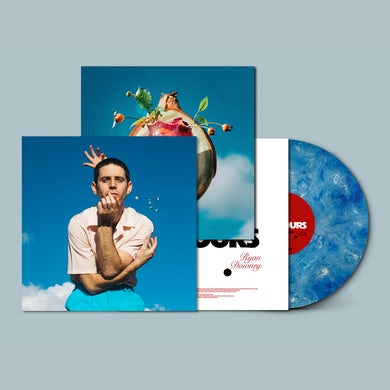 Ryan Downey A TON OF COLOURS LP (Marble Sky) (Vinyl)