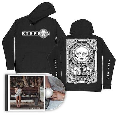 Stepson Help me, Help you CD + Tarot Hoodie