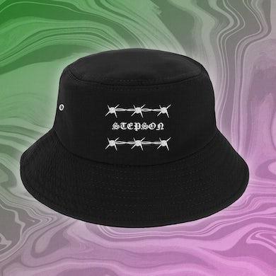 Stepson Barbed Logo Bucket Hat (Black)