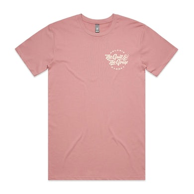 The Guilt & The Grief T-Shirt (Rose w/ Bone Ink)