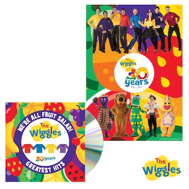 We're All Fruit Salad! The Wiggles' Greatest Hits CD