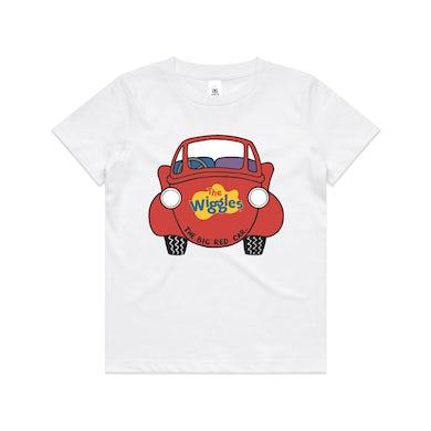 Big Red Car (White)