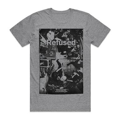 Refused Live Photo T-shirt (Grey)