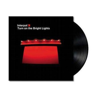 Interpol Turn On The Bright Lights LP (Black) (Vinyl)