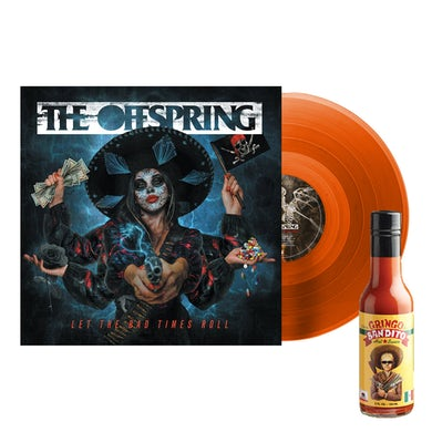 The Offspring Let The Bad Times Roll Vinyl (Translucent Orange) + Hot Sauce