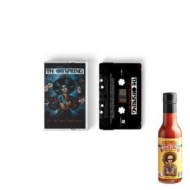 The Offspring Let The Bad Times Roll Cassette + Hot Sauce