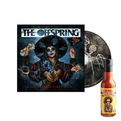 The Offspring Let The Bad Times Roll CD + Hot Sauce