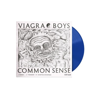 Common Sense LP (Vibrant Blue) (Vinyl)