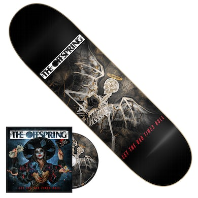 The Offspring Let The Bad Times Roll CD + Skate Deck