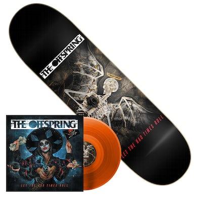 The Offspring Let The Bad Times Roll LP (Orange) + Skate Deck (Vinyl)