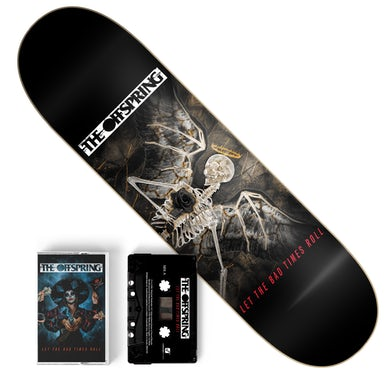 The Offspring Let The Bad Times Roll Cassette + Skate Deck