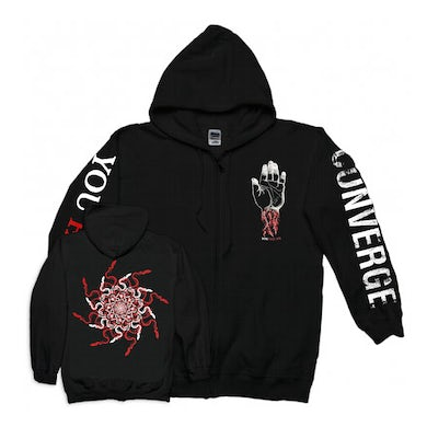 You Fail Me Snakes Zip-Up Hoodie