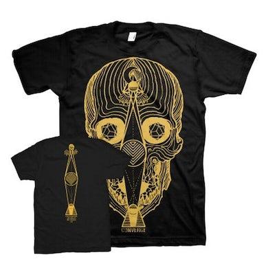 Converge Thousands of Miles Between Us Skull T-Shirt (Black)