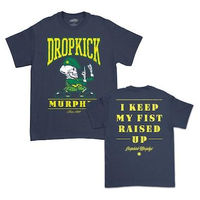Dropkick Murphys Fist Up T-Shirt (Navy)