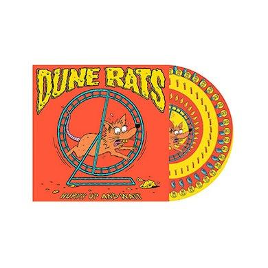 Dune Rats Hurry Up And Wait Vinyl (Yellow & Orange Spiral)