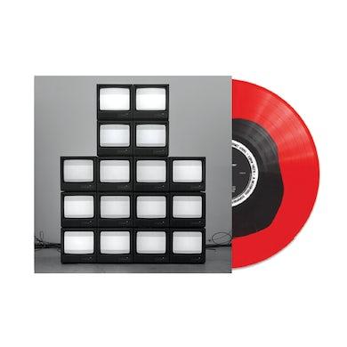 Rise Against Nowhere Generation LP (Red w/ Black Blob) (Vinyl)