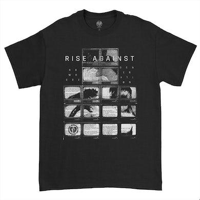 Rise Against Nowhere Generation T-shirt (Black)