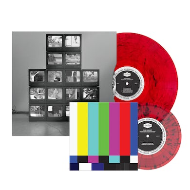 Rise Against Nowhere Generation Deluxe LP (Red with Black Smoke) (Vinyl)