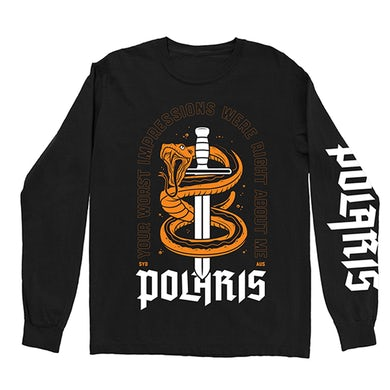 Polaris Snake Longsleeve (Black)