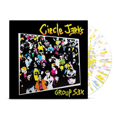 Group Sex Reissue LP (Tri-Colour Splatter) (Vinyl)