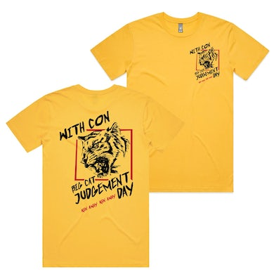 With Confidence Run Away Tee (Yellow)