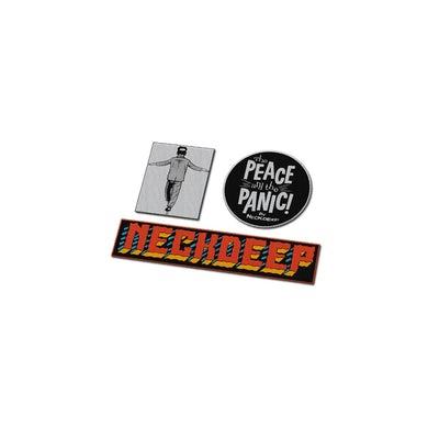 Neck Deep The Peace And The Panic Patch Set