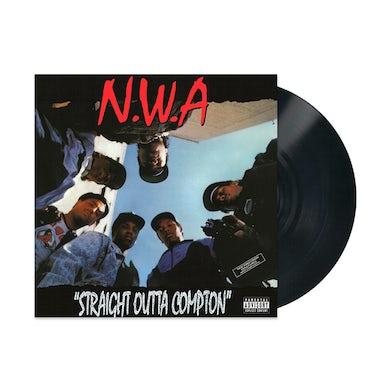 N.W.A. Straight Outta Compton LP (Black) (Vinyl)
