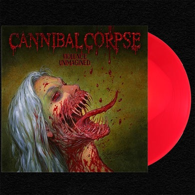 Cannibal Corpse Violence Unimagined LP (Bone-In-Red) (Vinyl)