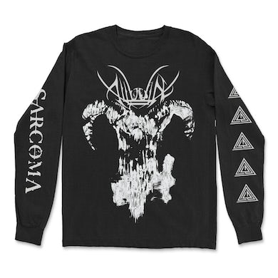 Goat Skull Long Sleeve (Black)