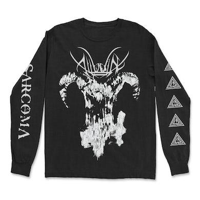 Goat Skull Long Sleeve (Black)