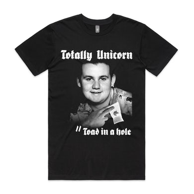 totally unicorn Toad In The Hole Tee (Black)