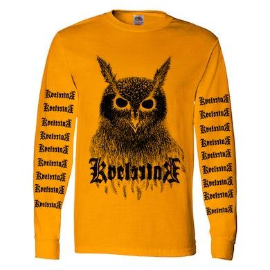 Kvelertak Bartlett Owl Long Sleeve (Gold)