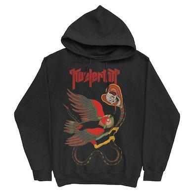 Kvelertak The Fight Pullover Hoodie (Black)