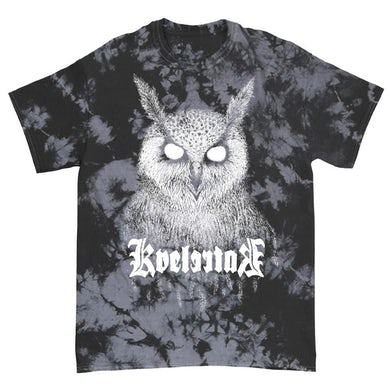 Kvelertak Bartlett Owl Tee (Black/ Grey Dye)