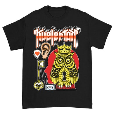 Kvelertak King Owl Tee (Black)