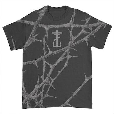 Frank Iero Thorns All Over Print T-Shirt (Black)