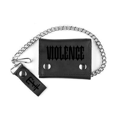 Frank Iero Violence Chain Wallet