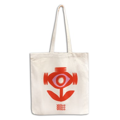 Sonic Flower Tote Bag