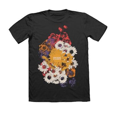 Sincere Engineer Flower Power T-Shirt (Black)
