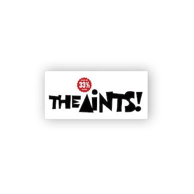 The Aints! The Aints Vinyl Sticker