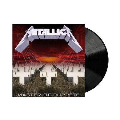 Metallica Master of Puppets LP - Remastered (Black) (Vinyl)