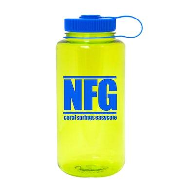 New Found Glory Easy Core Nalgene Water Bottle (Spring Green)