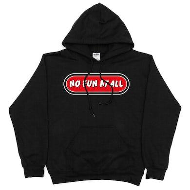 No Fun At All Logo Hoodie (Black)